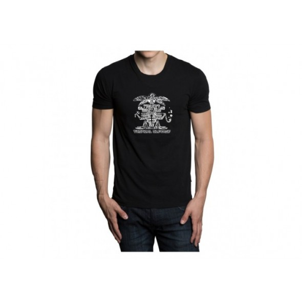 Tropical Bleyage T-shirt Black