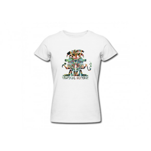 Tropical Bleyage T-shirt White